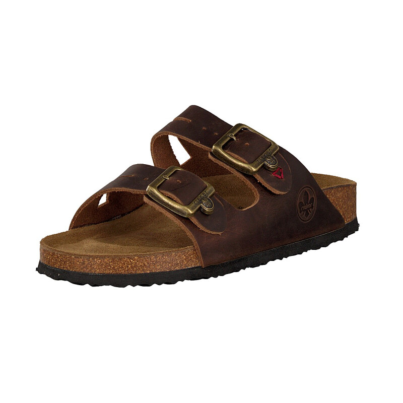 Rieker women mule brown