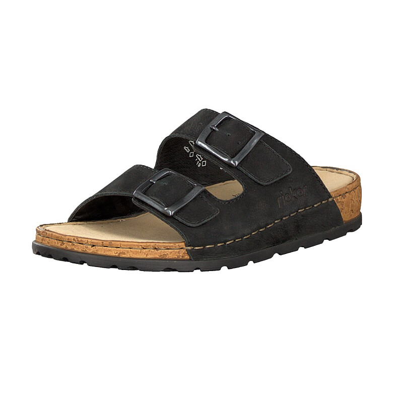 Rieker men mule black