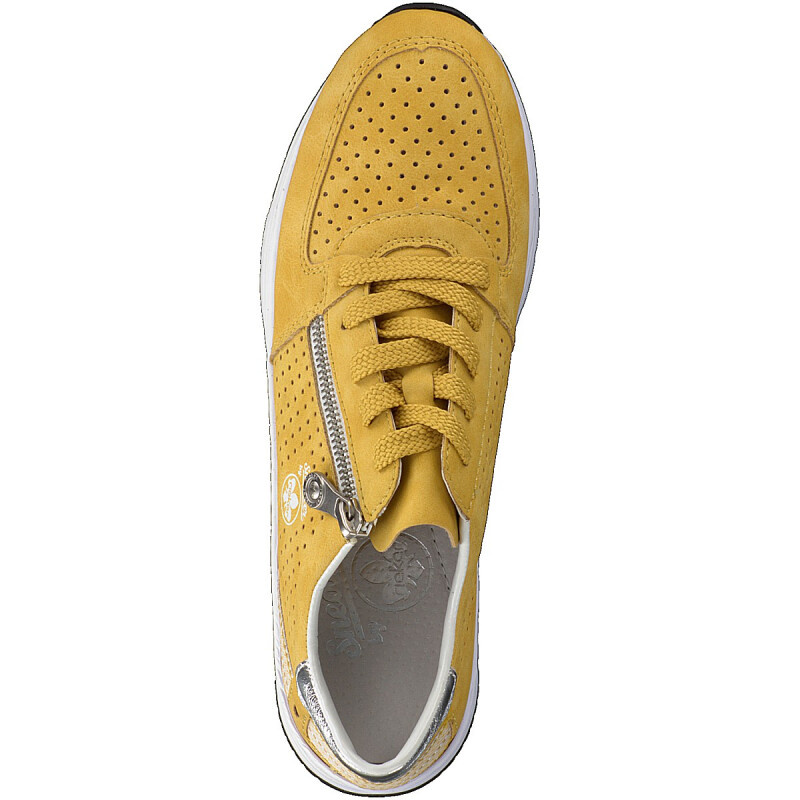 Rieker women sneaker yellow