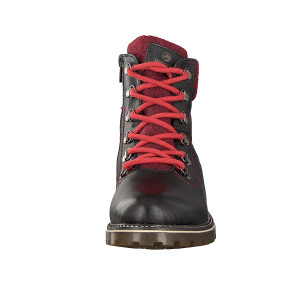 Remonte women lace-up boot black