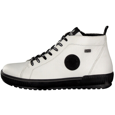 Remonte women lace-up boot white