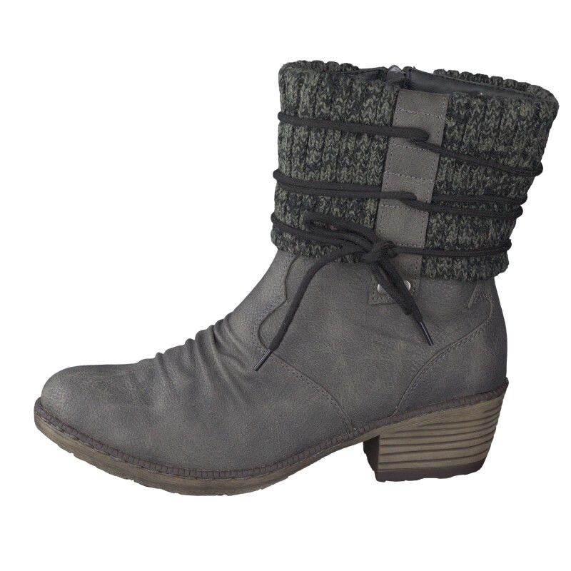 Rieker women ankle boot grey 93791-42