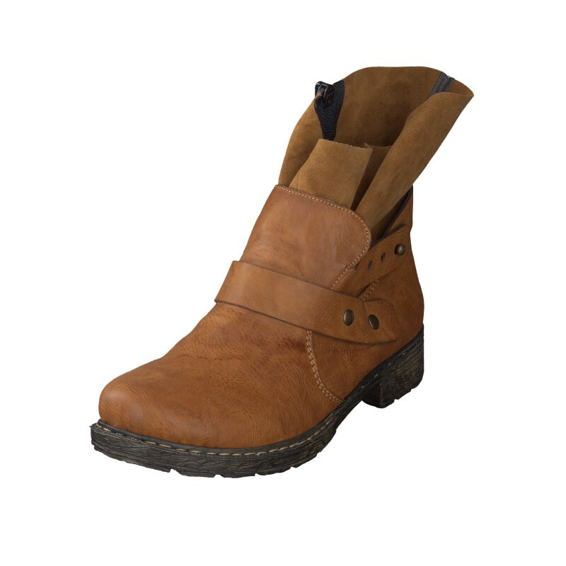 Rieker women ancle boot brown 79291-24