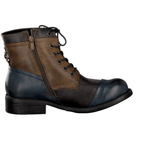 Rieker lace up boot blue