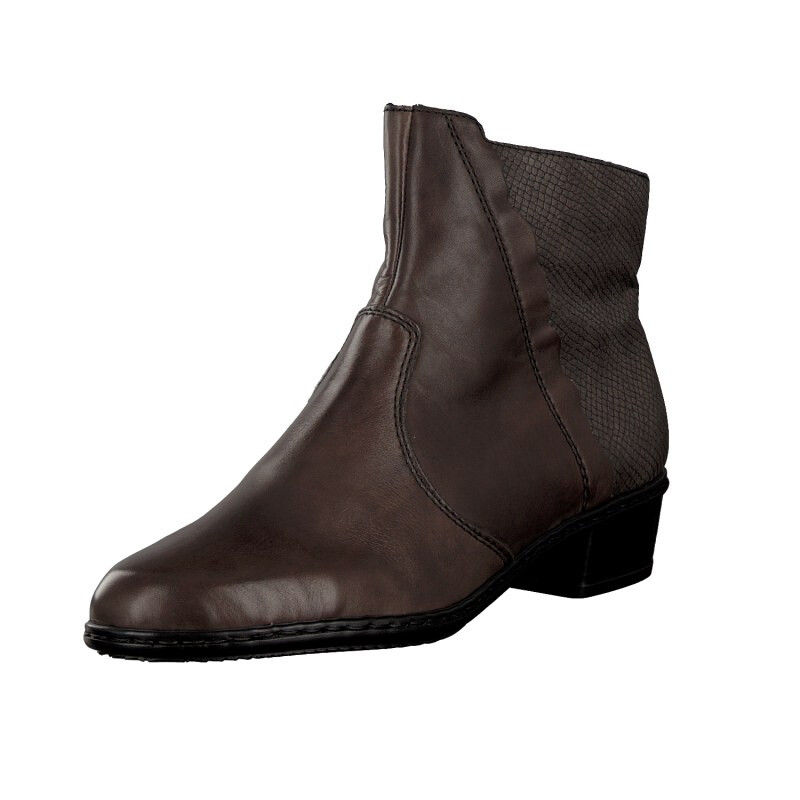 Rieker women bootee brown Y0769-45