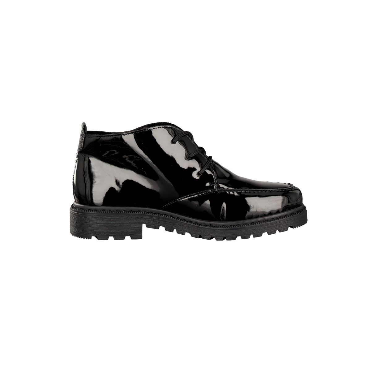 rieker lace up boot black 76312 02