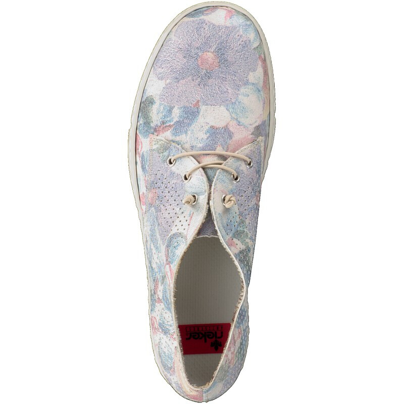 Rieker Damen Slipper blau L9436-90