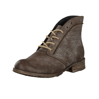 Rieker lace-up boot brown