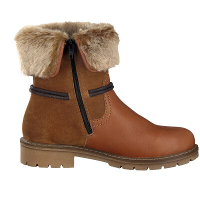 Rieker ankle boot brown