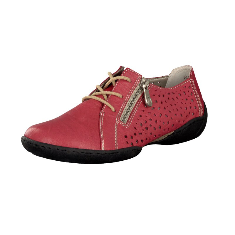 c5493caf30 Rieker women lace-up shoe red 58825-33