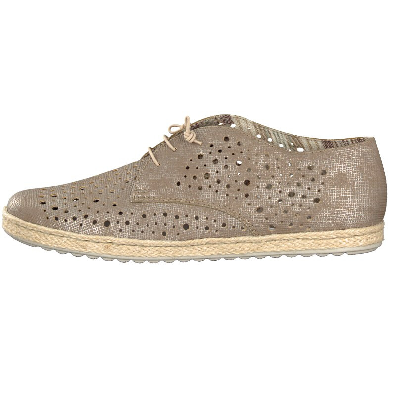 Rieker Damen Slipper gold M1146-64