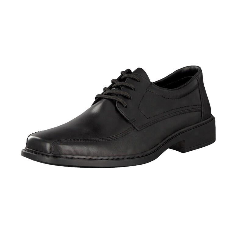 Rieker men lace-up shoe black