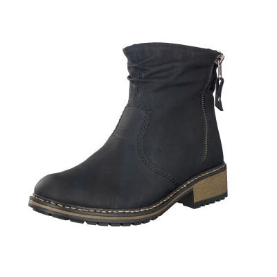 Rieker women ankle boot black Z6841-01