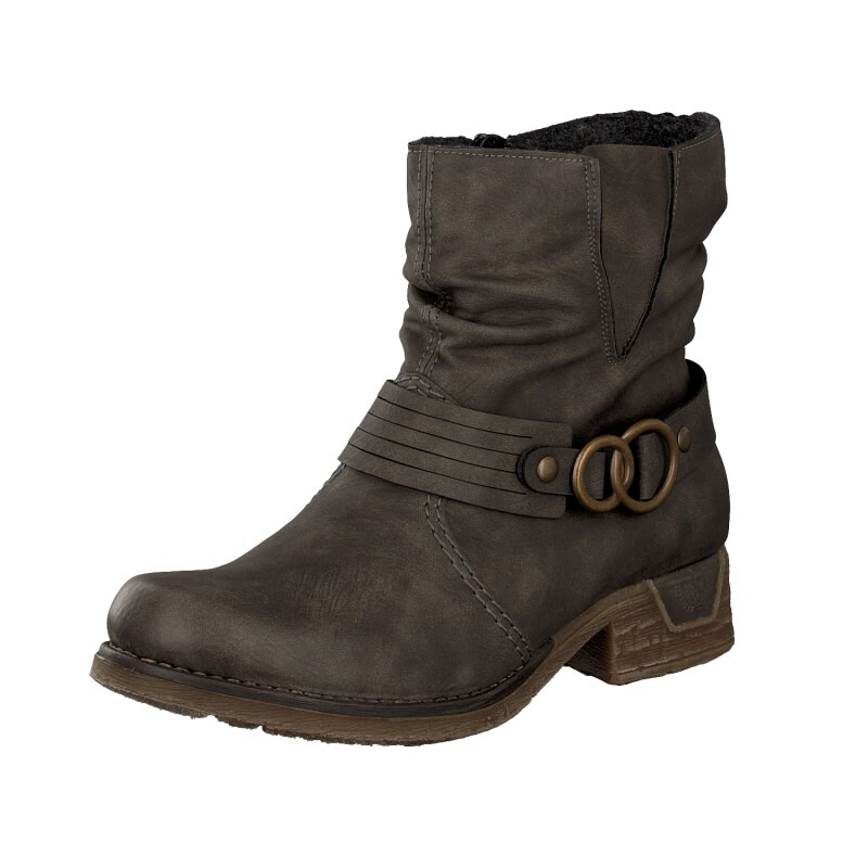 Rieker Damen Boot grau 79699-45