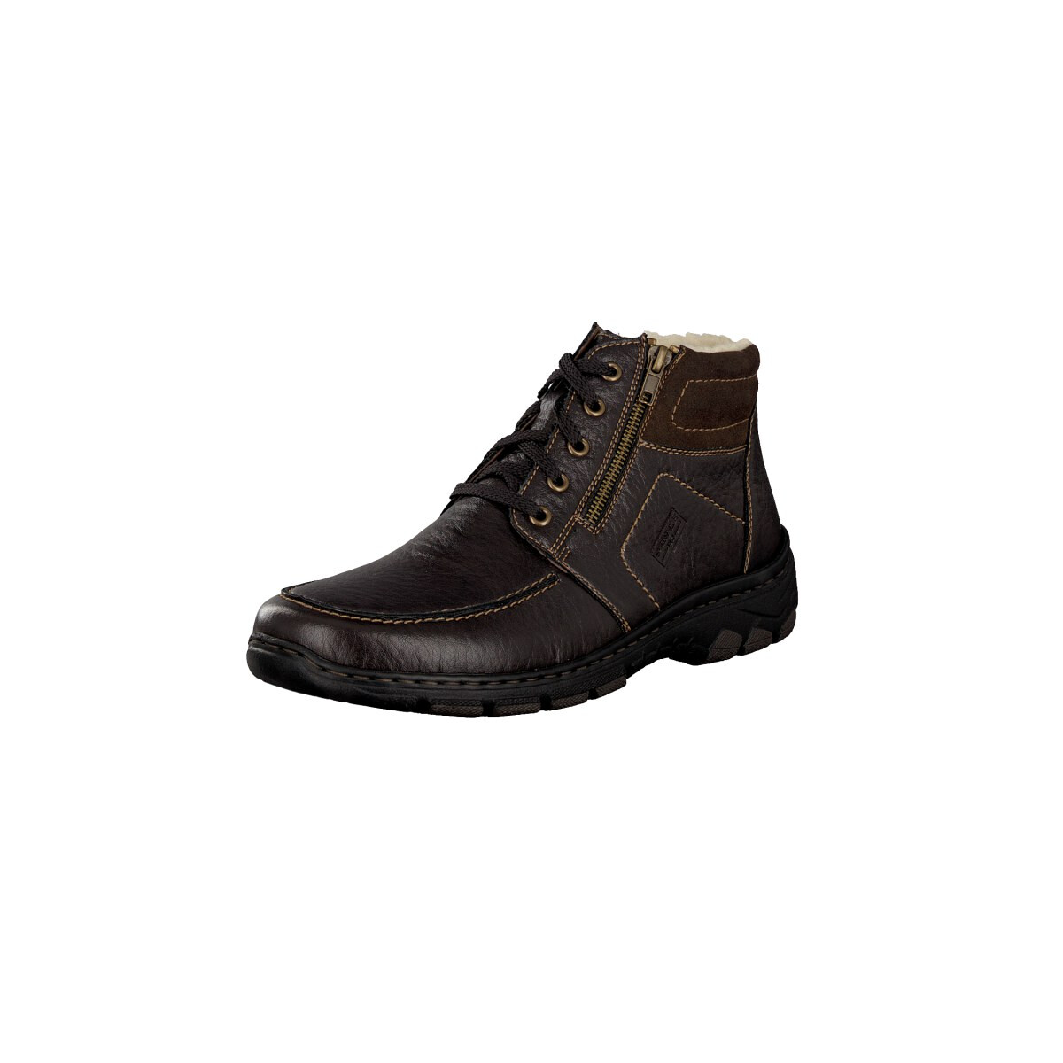 rieker lace up boot brown 39934 25