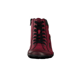Rieker women lace-up boot red