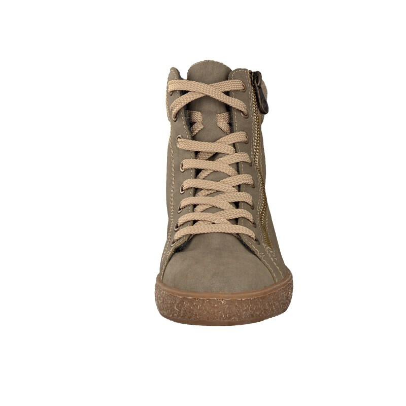 Rieker women lace-up boot grey Z4830-42