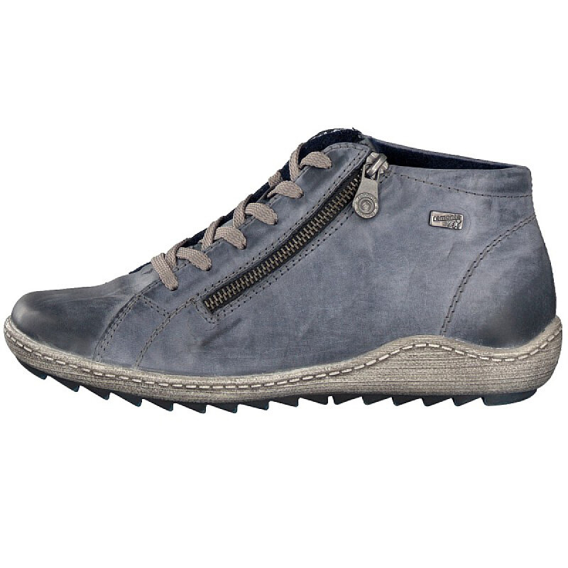 Remonte by Rieker women lace-up boot blue R1470-14 3,5