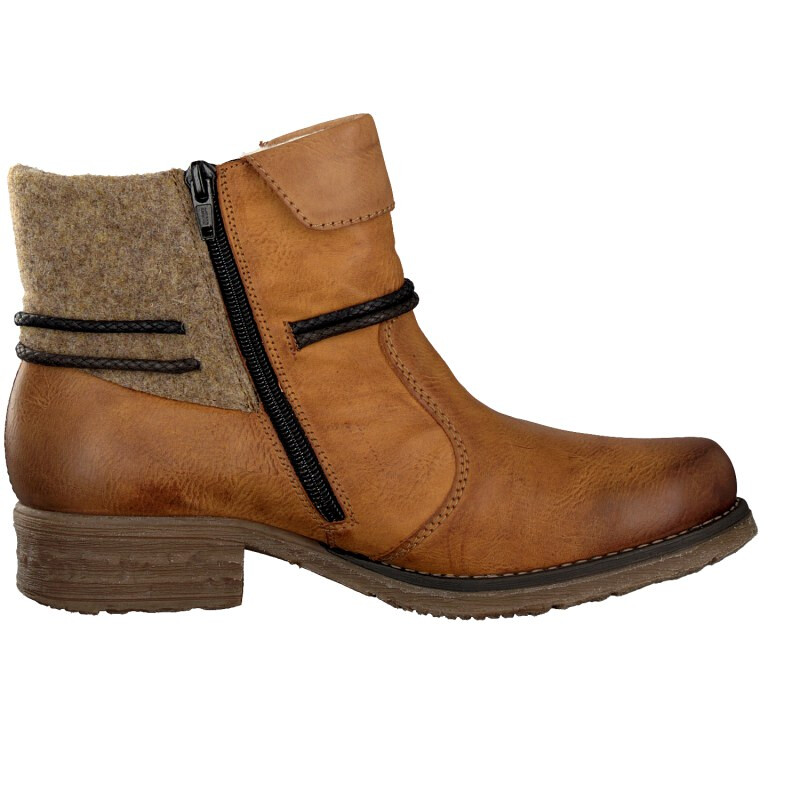 Rieker women boot brown 79693 24