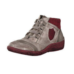 Remonte by Rieker women lace-up boot grey D3871-42