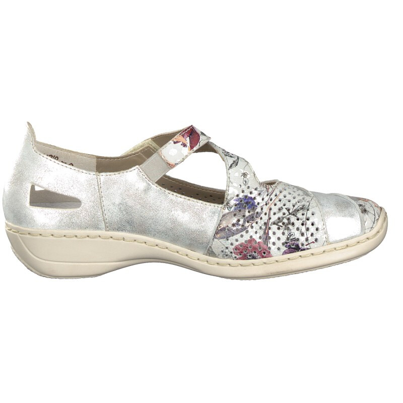 Rieker Damen Slipper multi 41346-90