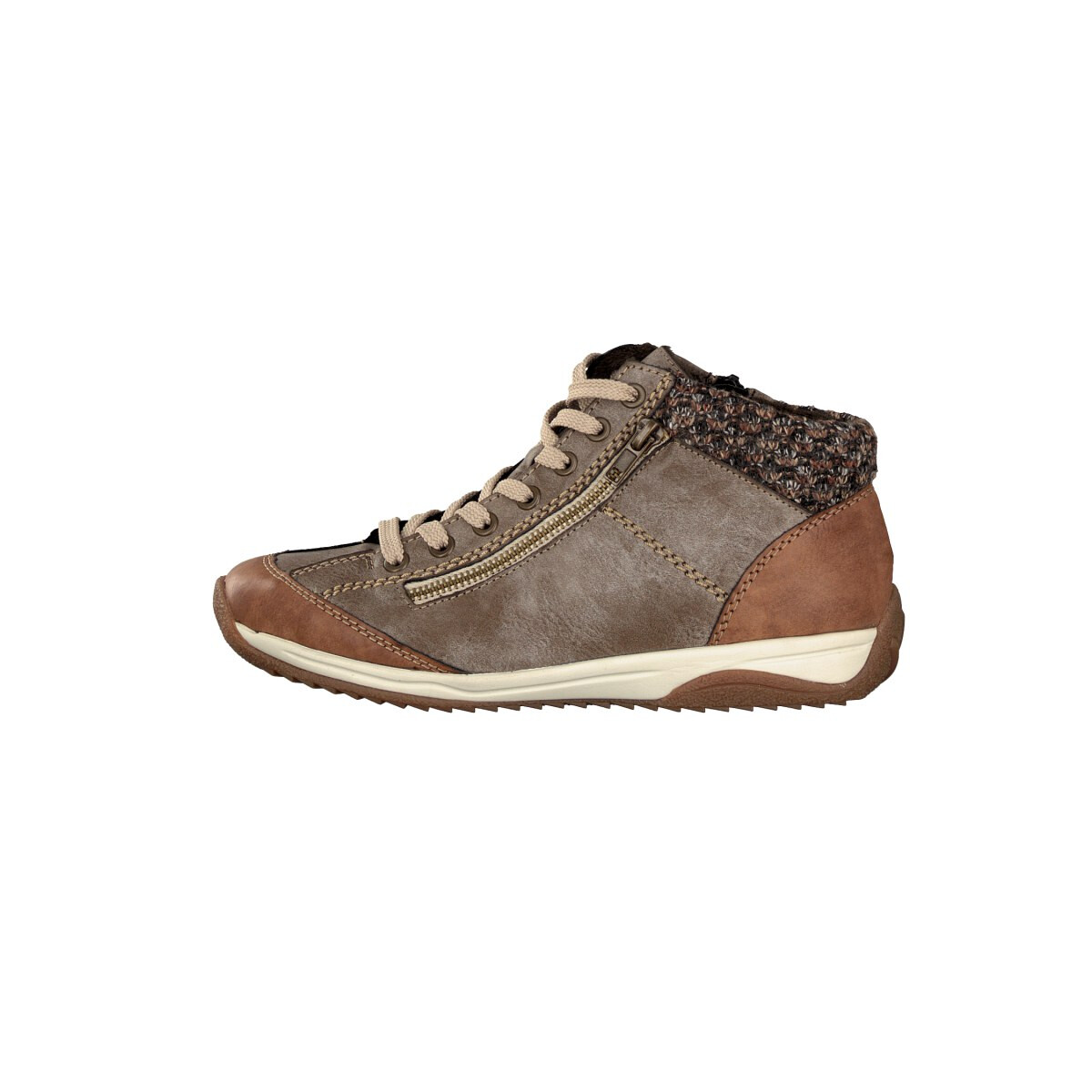 Ladies Rieker Casual Knitted Cuff Ankle Boots 'L5223'   eBay