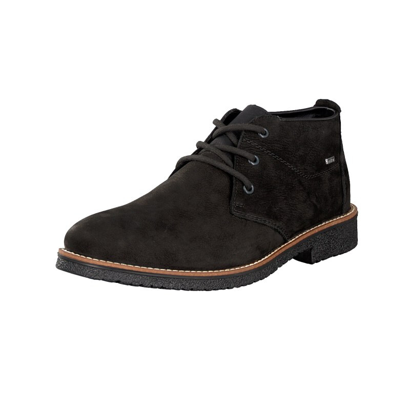 Rieker men lace-up shoe black 13630-00