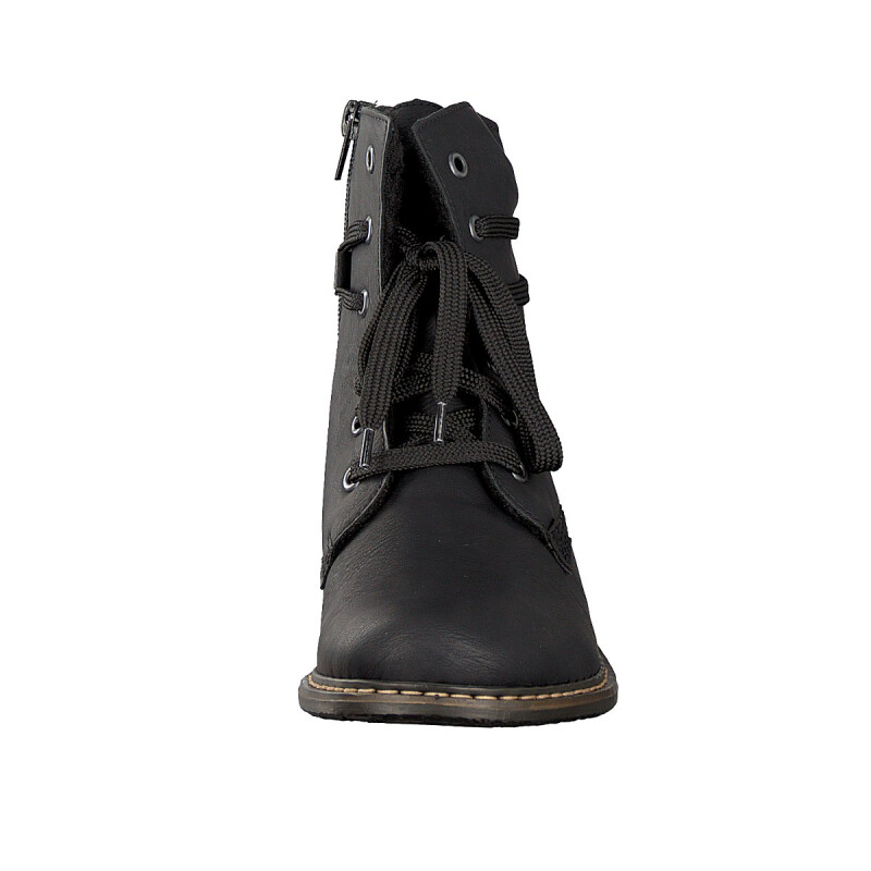 Rieker women lace-up boot black