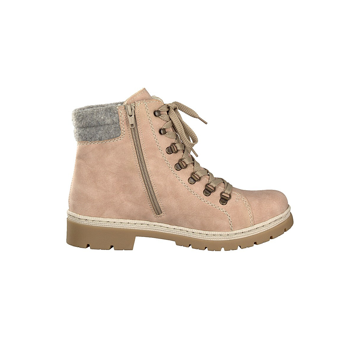 Rieker women lace up boot rose Y9430 32