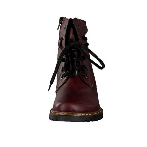 Rieker women lace-up boot red Z3920-35