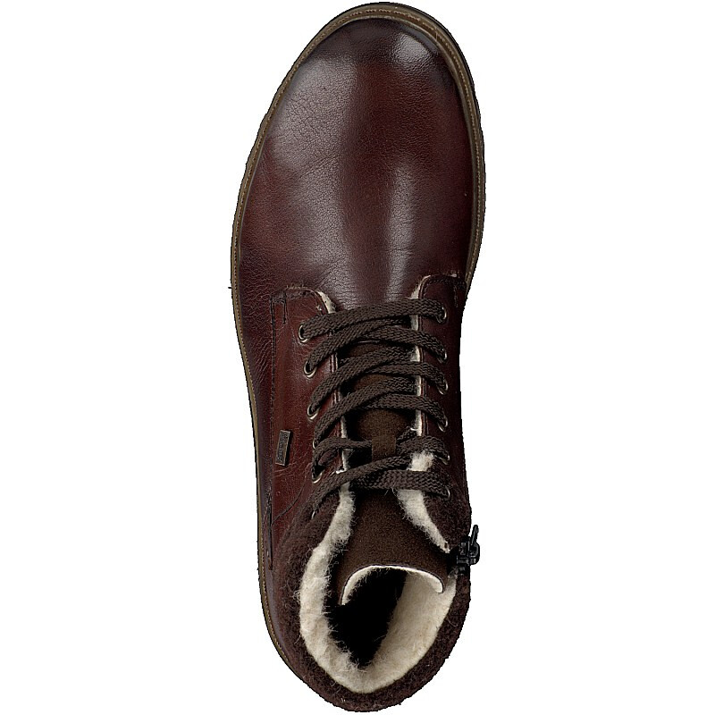 Rieker men lace up boot brown F3112 25
