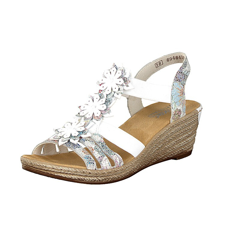 Rieker women sandal white 62461 91