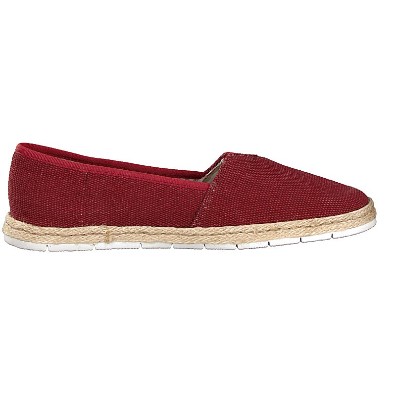 Rieker Damen Slipper rot
