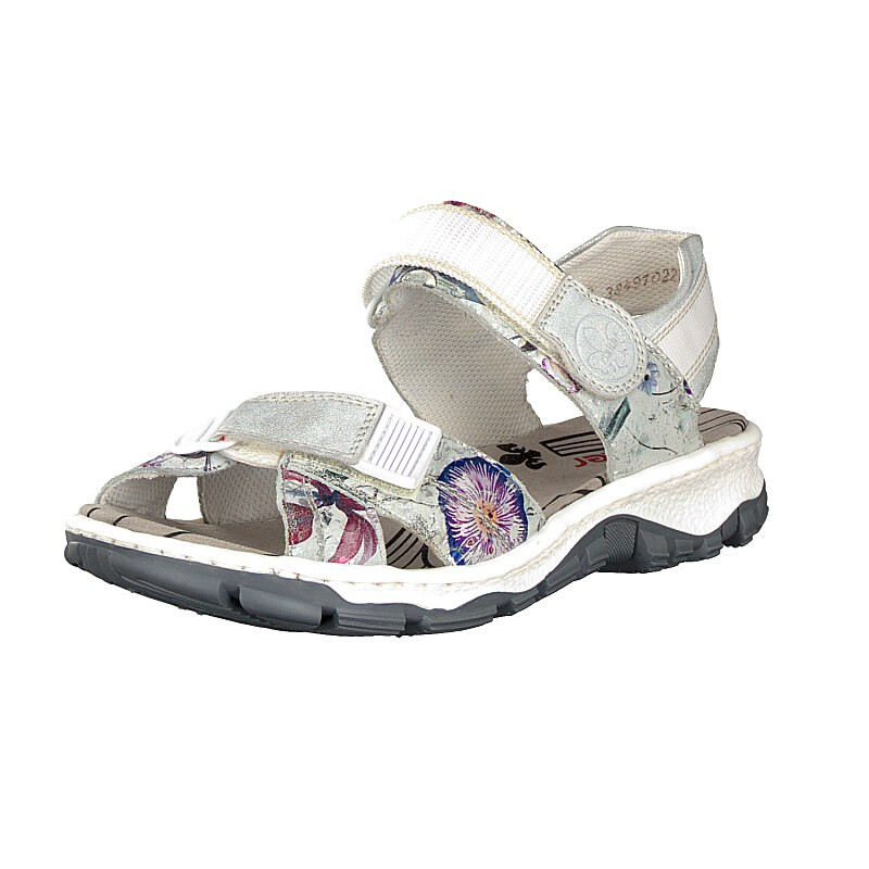 Rieker women sandal metallic