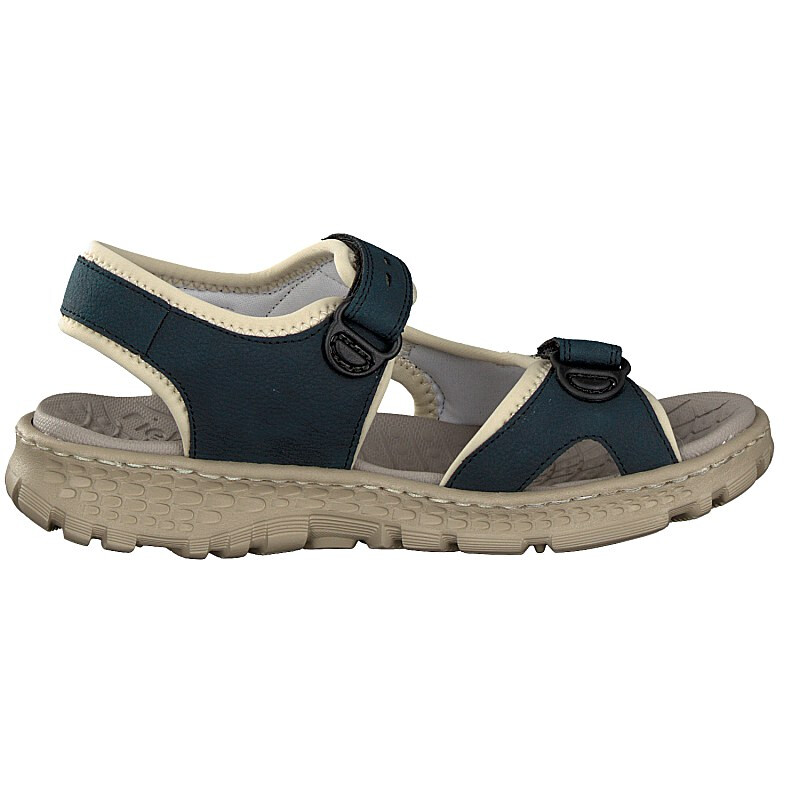 Rieker women sandal blue 67866-14 6