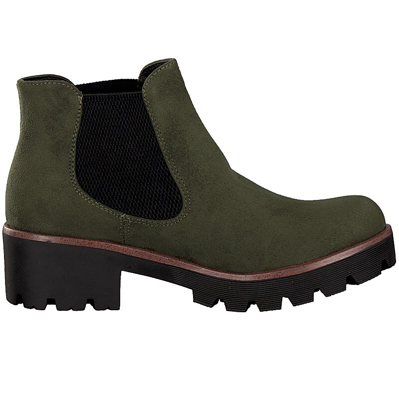 Rieker women boot green