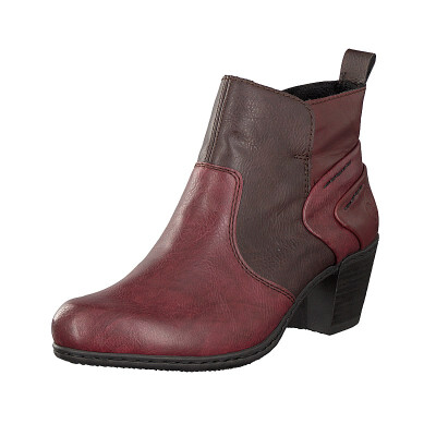 Rieker women ankle boot red