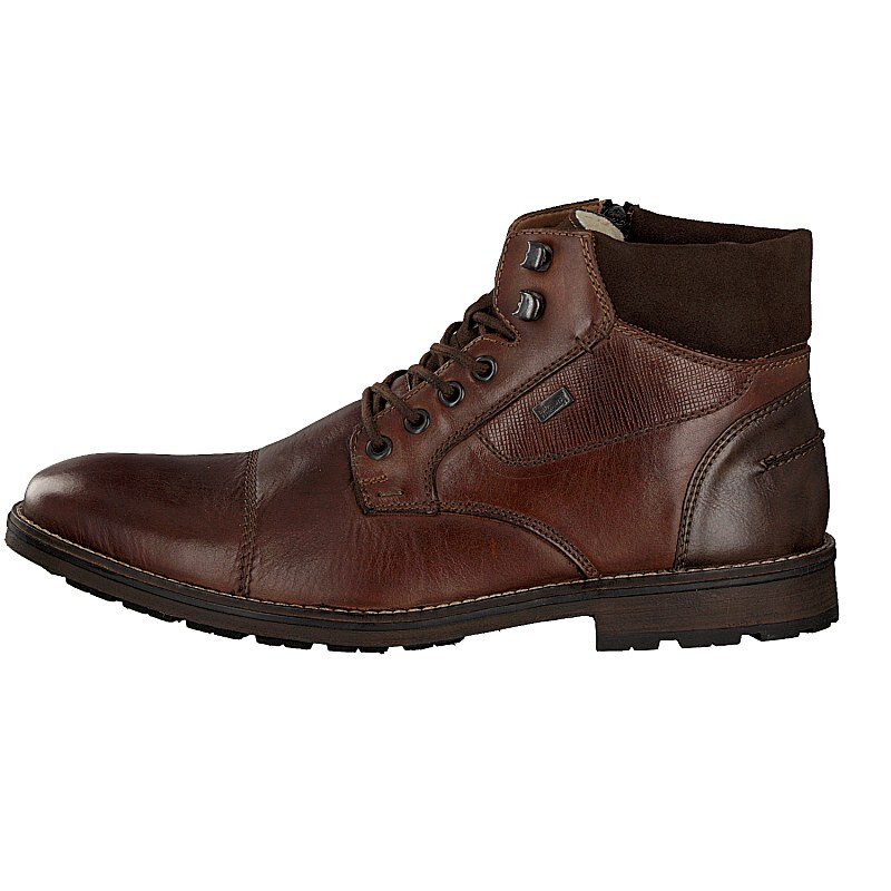 Rieker men lace-up boot brown