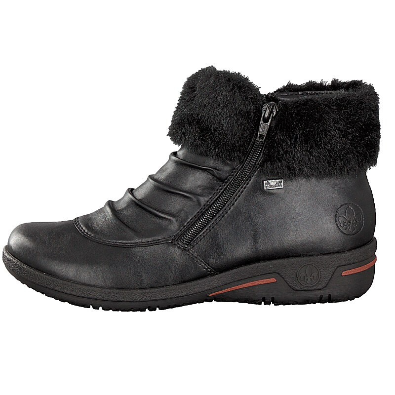 Rieker women boot black