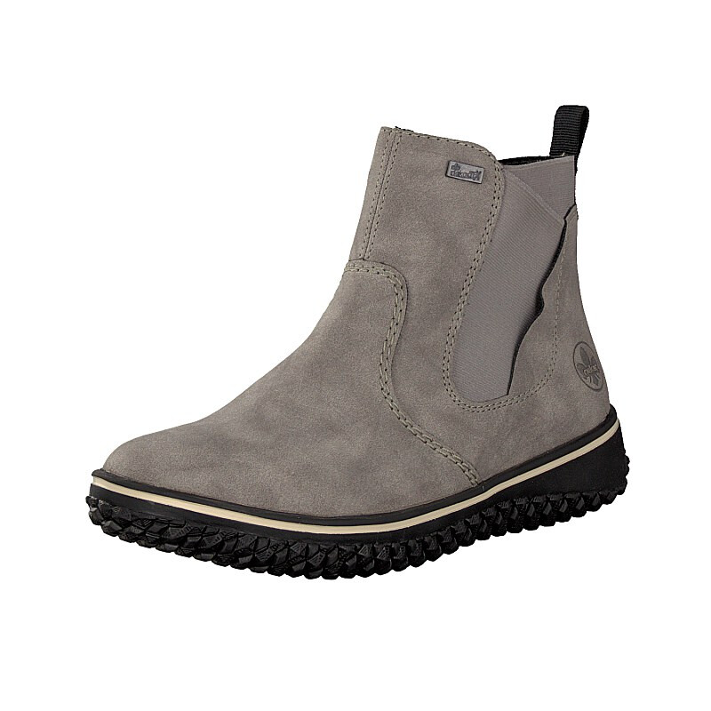 Rieker Damen Boot grau