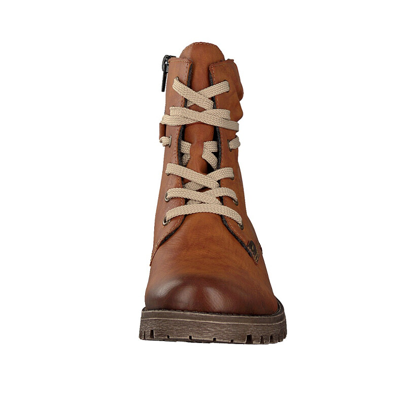 Women Rieker Lace up Boots brown 78530 24 | shoesyouwant