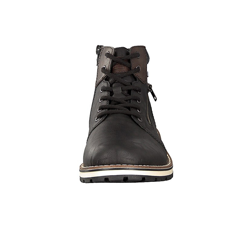 Rieker men lace-up boot black