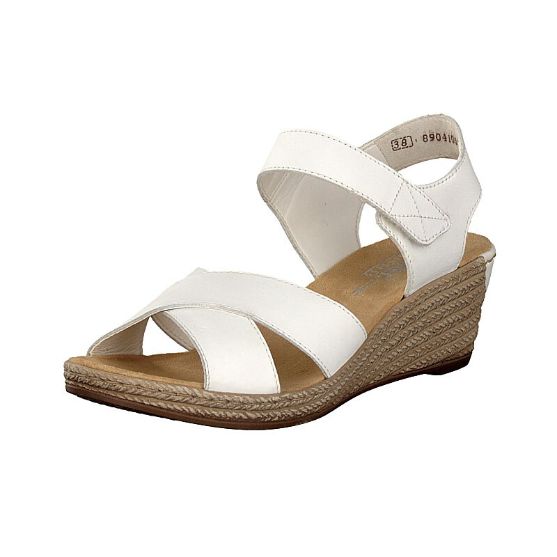 Rieker women sandal white