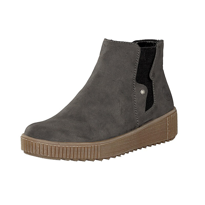 Rieker women boot grey