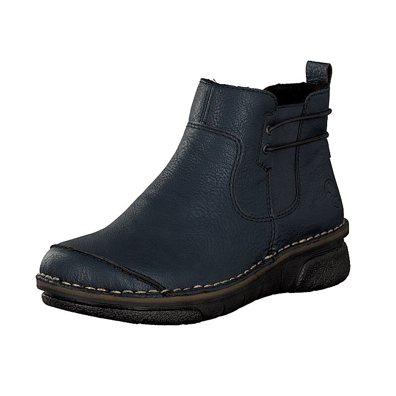 Rieker Damen Boot blau