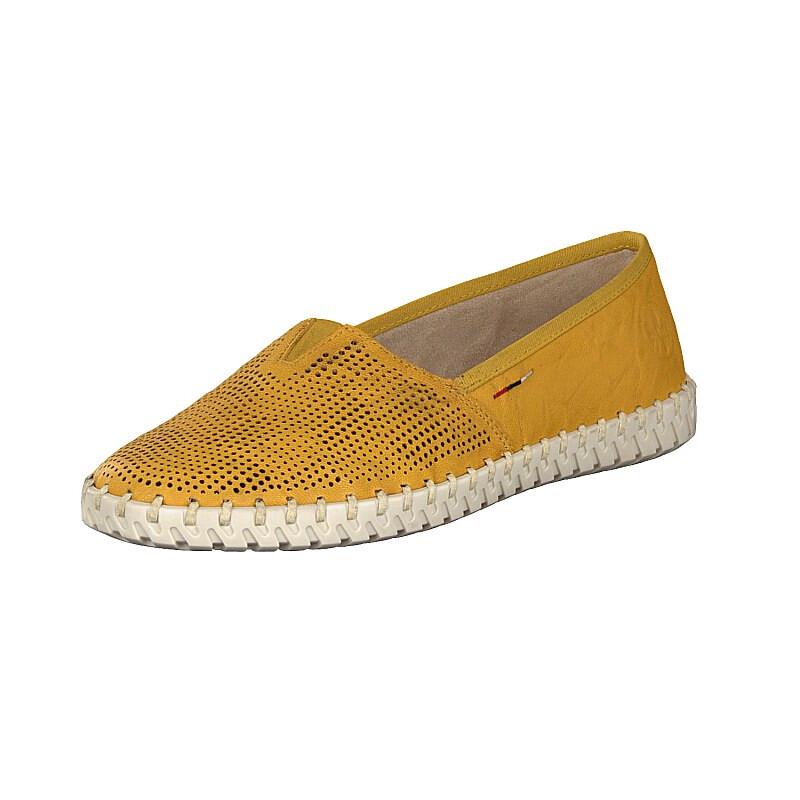 Rieker Damen Slipper gelb