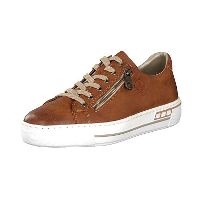 Rieker women sneaker brown