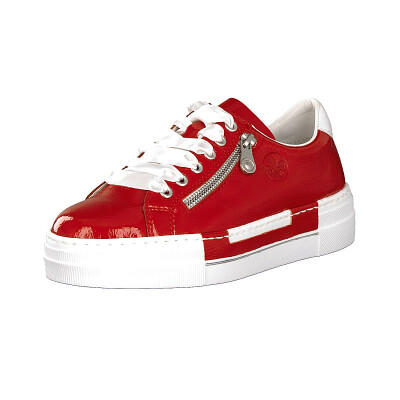 Rieker women sneaker red