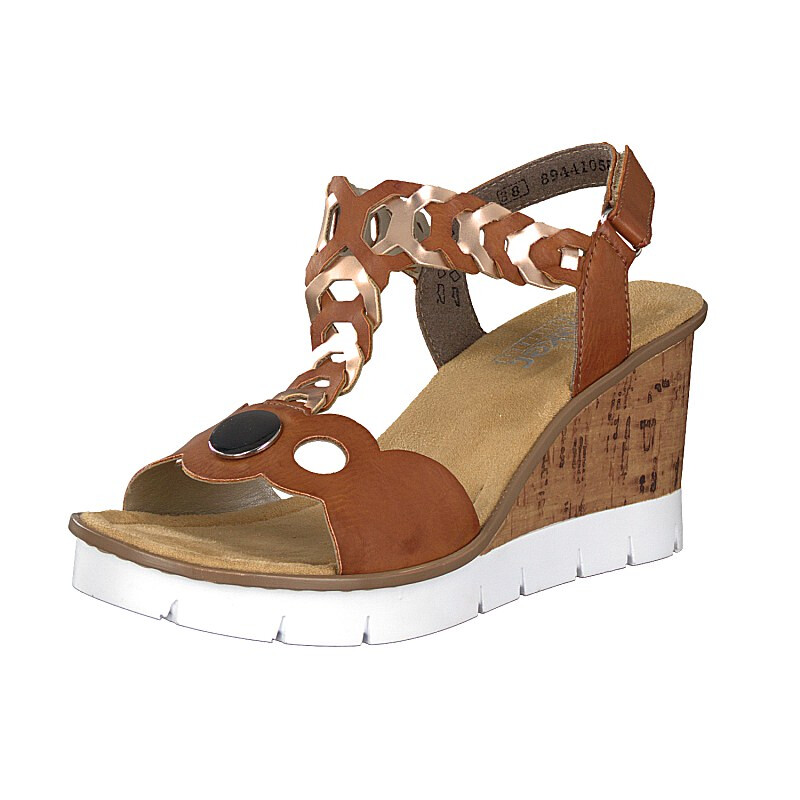 Rieker women sandal brown