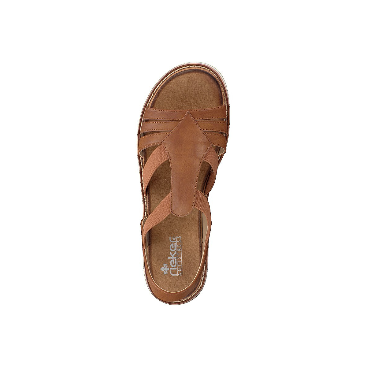 Rieker women sandal brown V6473 24 cWKpu